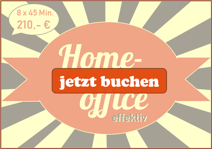 Feektiv im Homeoffice – Buchen