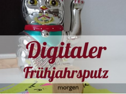 Digitaler Putz auf Smartphone, Tablet & PC © Sylvia NiCKEL